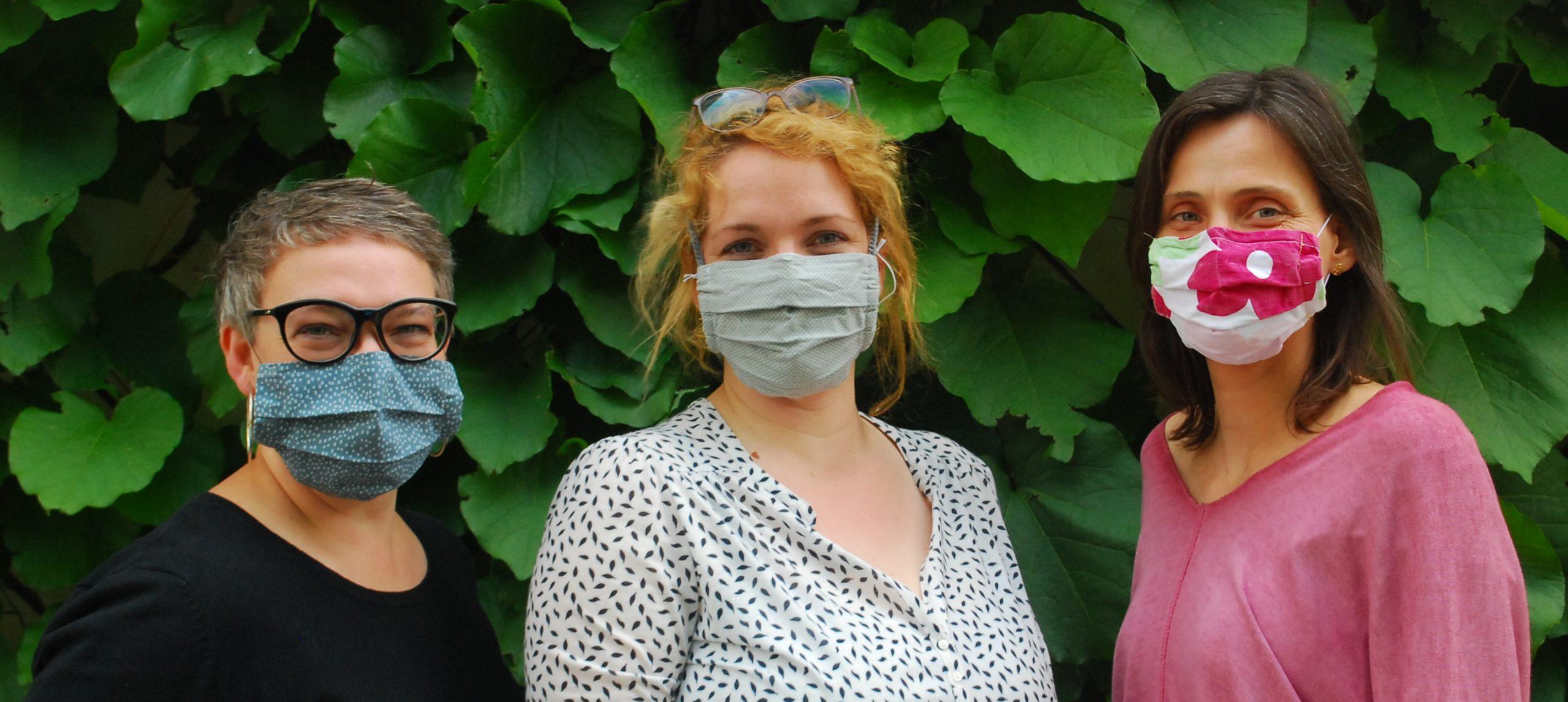 Masken –  und trotzdem gute Laune